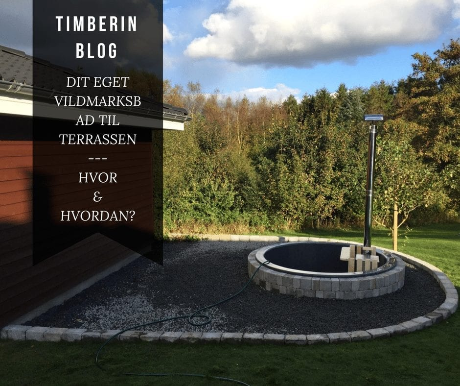 Hot Tub Terrasse Model Installation Eksempler