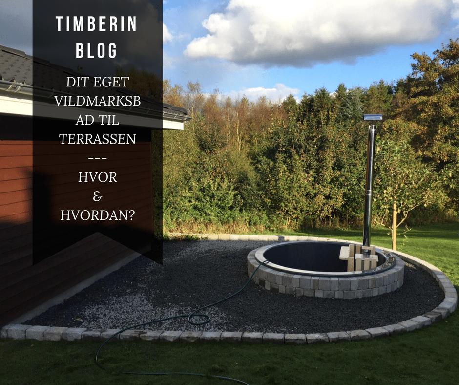 Hot Tub Terrasse Model Installation Eksempler