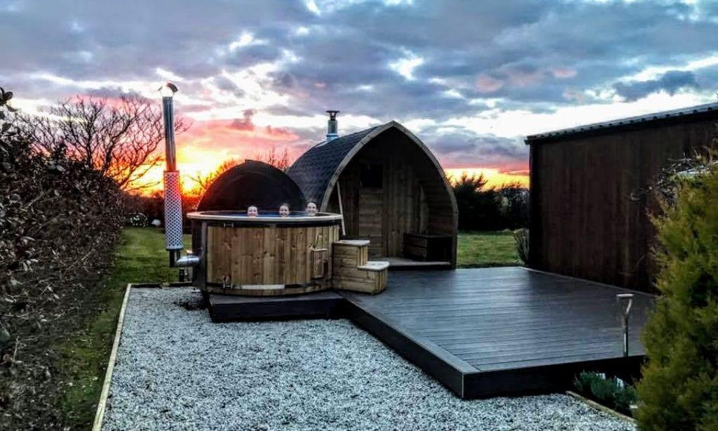 Vildmarksbad - Udendørs sauna til Haven | Anmeldelser Erfaring