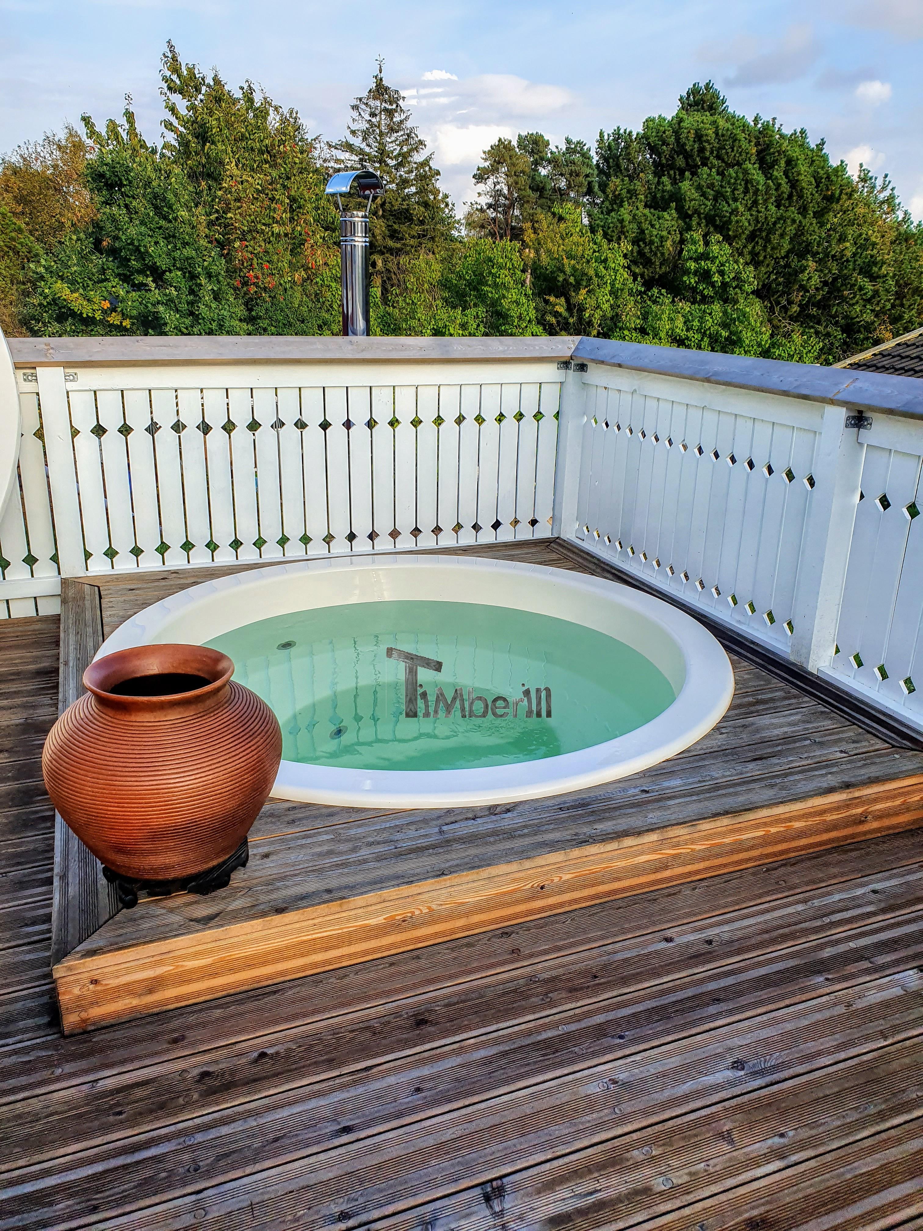 Spabad med havebad 5