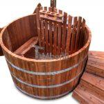 Vildmarksbad i thermo træ. Basic