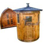 Opretstående stående sauna