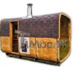 Firkantede Udendørs Sauna TimberIN Main