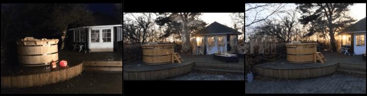 Badetønde I Træ Deluxe Model, Svend , Grenaa, Danmark