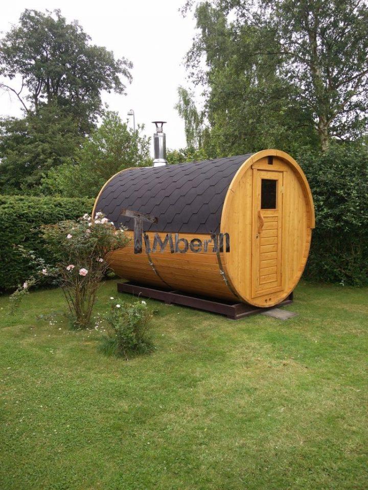 Udendørs Sauna I Træ Til Haven, Martin, Præstø, Danmark (3)