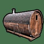 Tønde udendørs sauna Special tilbud 1