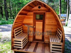 Finsk Udendørs Sauna