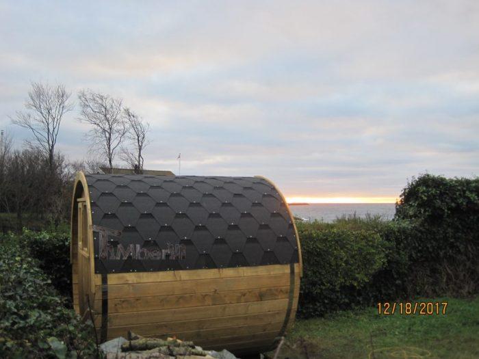 Udendørs Sauna I Træ Til Haven Tønde Design, Thomas, Rønne, Danmark (3)
