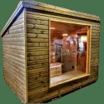 Moderne Udendørs Havesauna (1)