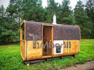 Udendors Haven Sauna Rektangulaer