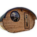 Udendørs Tønde Sauna Oval Hobbit (68)