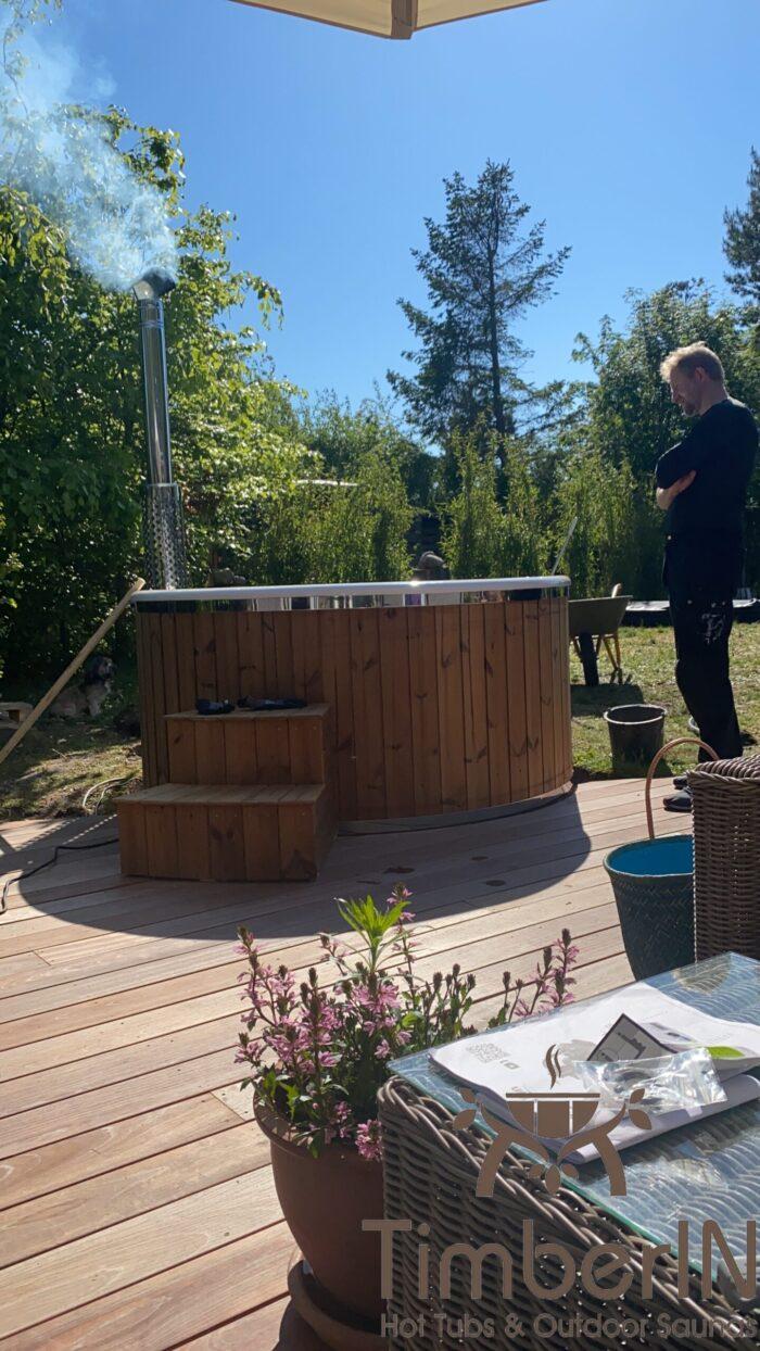 Vildmarksbad Med Bobler TimberIN Rojal, Kjell, Hornbæk, Danmark (2)