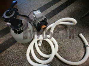 Sand filtreringssystem