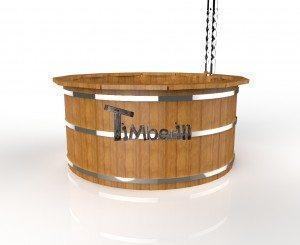 Udendørs spa varmebehandlet træ deluxe model til salg (6)
