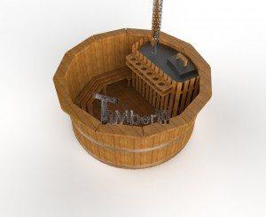 Udendørs spa varmebehandlet træ deluxe model til salg (8)