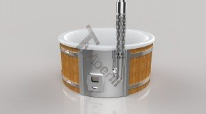 Vildmarksbad Fiberglas Wellness 3D Render (19)