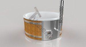 Vildmarksbad Fiberglas Wellness 3D Render (2)