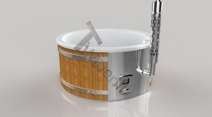 Vildmarksbad Fiberglas Wellness 3D Render (3)