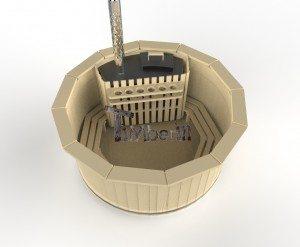 Vildmarksbad i træ deluxe model med indvendig eller udvendig ovn deluxe model (4)