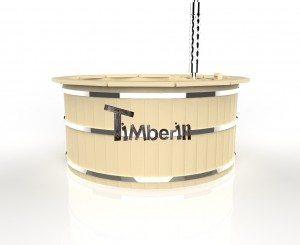 Vildmarksbad i træ deluxe model med indvendig eller udvendig ovn deluxe model (8)