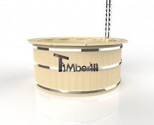 Vildmarksbad i træ deluxe model med indvendig eller udvendig ovn deluxe model (9)